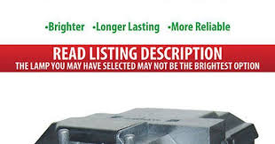 <b>Projector Lamps</b> and Components: <b>Bulb</b> Cartridge <b>Replacement</b> For ...