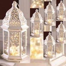 Lantern wedding centerpiece Candle Lantern Large Distressed Lantern Moroccan Candleholder Wedding Centerpieces 16 Ebay Distressed Lanterns Wedding Centerpieces Ebay