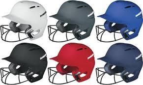 Demarini Paradox Wtd5423 Protective Batting Helmet With Softball Facemask