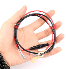 55 cm Wiring Harness Dual Link Cable <b>Motorcycle</b> Boat Car ...