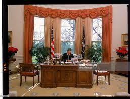 oval office furniture. President Ronald Reagan Behind His Desk In The Oval Office. Office Furniture L