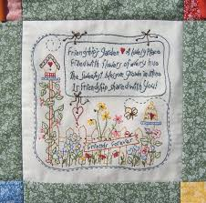 Friendship Quilt Sayings: Quotes about friendship quilt quotesgram ... & Friendship Quilt Sayings : Celebrate friends with a charming quilt  embroidered Adamdwight.com