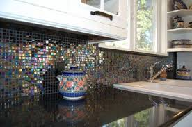 Glass Tile Kitchen Backsplash Designs New Design