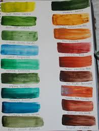 Matisse Colour Chart Derivan Matisse Flow Acrylics Library Wetcanvas Color