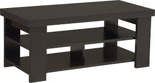 black rectangle coffee table. Amazon.com: Ameriwood Home Jensen Coffee Table, Espresso: Kitchen \u0026 Dining Black Rectangle Table