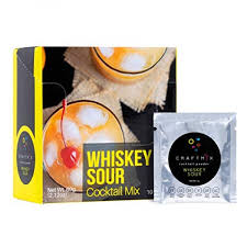 The only problem with these powdered or bottled sour mixes is that they come with a whole lot of sugar. Craftmix Cocktail Mix Whiskey Sour Low Calorie Vegan Gluten