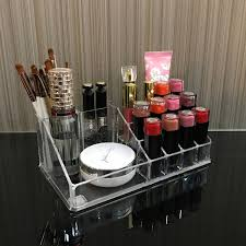 ikee design acrylic jewelry and cosmetic storage display box set clear on orders over 45 overstock 17941728