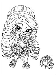 Monster High Coloring Page Free Download