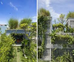 modern office architecture. Ho Khue Architects, The Modern Village Office, Green Office Design, Architecture