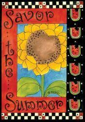 garden house flags. SnapDragon Flag - Savor The Summer Garden House Flags T