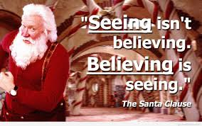 believing in santa claus quotes images wallpapers