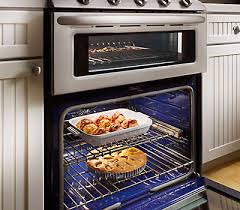 double oven gas range. 6.0 Cu. Ft. Total Capacity Double Oven Gas Range