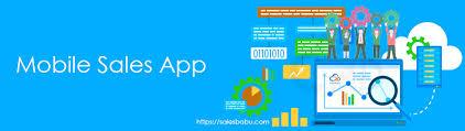 App Sales Mobile Sales App Sales Management App For Sales Tracking Salesbabu