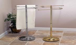 free standing towel rack free standing towel rack brushed nickel stainless steel freestanding towel
