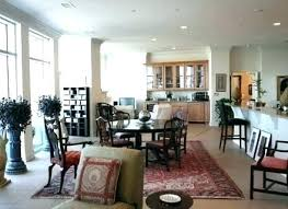 Living And Dining Room Combo Custom Decoration
