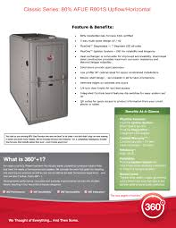 rheem gas furnace. paired with rheem\u0027s 360+1 policy and a space-saving, 34\ rheem gas furnace