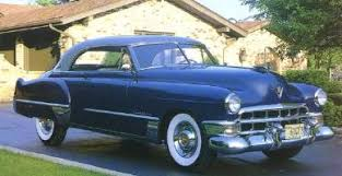 1949 cadillac 2 door right front view