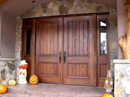 exterior wooden french doors for sale. exterior, : double rustic exterior entrance door with solid dark varnished finishing design wooden french doors for sale n