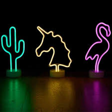 Led Neon Unicorn Decor Light