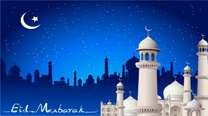 eid pray moon mosque wallpaper dreamlovewallpapers