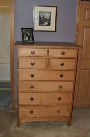 tall dresser chest. Tall Dresser Chest Modern Design Eight Spacious Drawers Small Round Handle Large Square Brown Varnished Wooden Case Strong Dovetail E
