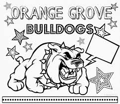 Small Picture Georgia Bulldogs Logo Coloring Coloring Pages