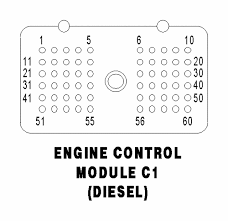 dodge cummins ecm pin layout diagram color code of wires to