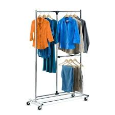 Portable And Expandable Garment Rack In Black Chrome 18 Months Unique Portable And Expandable Garment Rack In Black Chrome 32 Months