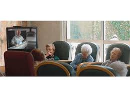 Image result for pensioner cartoon old folks home