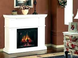 electric fireplace log inserts with heaters fireplace electric