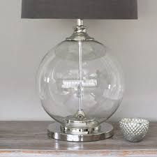 medium size of table lamps large clear glass lamp holmegaard ideas marvellous touch target outdoor round