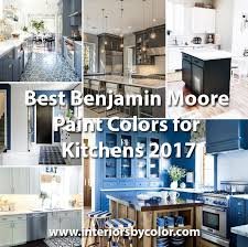 benjamin moore paint colorBest Benjamin Moore Paint Colors for Kitchens 2017  Interiors By