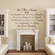 Small Picture Tips for Decorating Wall Decal Quotes Inspiration Home Designs