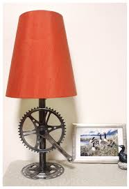 Recycled Bike Parts Lamp Base Bike Parts Recycled Bike Parts