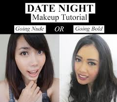 tutorial date night makeup