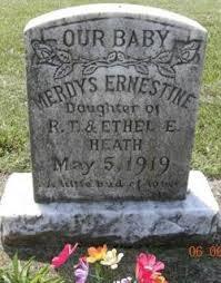 Merdys Ernestine Heath (1919-Unknown) - Find A Grave Memorial