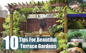 10 Tips For Beautiful Terrace Gardens