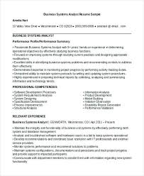business systems analyst resume business systems analyst resume sample