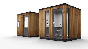 office pods. Office Pod With Corner Glazing Pods