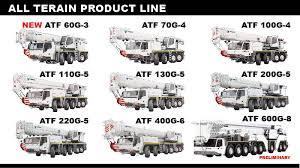 All Terrain Cranes Tadano America Corporation Tadano