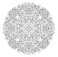 Small Picture Complex coloring pages flowers mandala ColoringStar