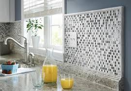 kitchen backsplash.  Backsplash Glass And Marble Wall Tile Inside Kitchen Backsplash A