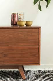 walnut media console. Contemporary Walnut 4 Walnut Media Console  Compact Cabinets Furniture Maison In D