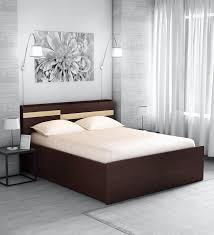 hisao queen size bed with headboard