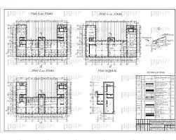 Скачать бесплатно дипломный проект ПГС Диплом № Пожарное  3 План 2 го этажа План 3 го этажа План подвала Разрез jpg