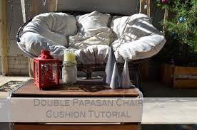 cushion but found absolutely zero for a double papasan i made mine up as i went and it isn t perfect but next time i make one i ve got it all figured