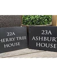 Small Picture Design Your House Sign Scottish Slate Gift