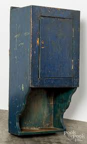 Painted <b>hanging</b> cupboard 19th c | Farmhouse style living room ...