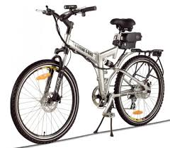 XB 310Li <b>Folding Electric Bicycle</b> Lithium Power Assisted Mountain ...