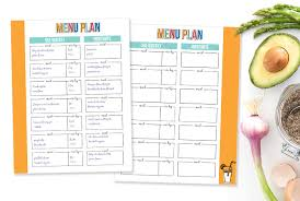 Free Printable Meal Planner Like No Other - I Heart Planners